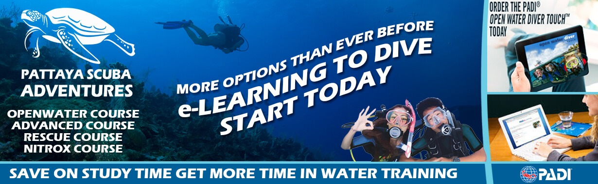 Padi e learning digital courses pattaya scuba adventures padi dive padi elearning touch app dive courses pattaya thailand fandeluxe Choice Image