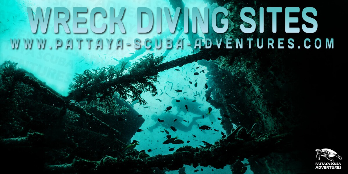 Wreck Diving Pattaya Dive Sites Thailand
